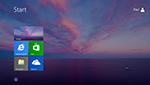 Menu démarrer et bureau au lancement dans Windows 8.1