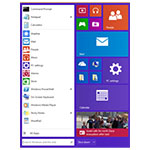 Windows 9 un nouveau menu démarrer ?