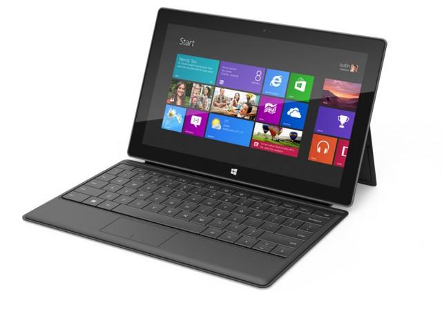 Lancement de la tablette de Microsoft Surface RT