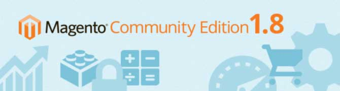Magento Community Edition (CE) 1.8.0 disponible en production