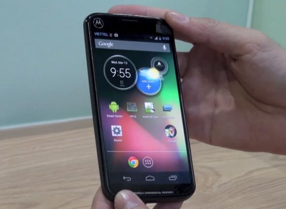 Moto X reconnaissance vocale activée en permanence !