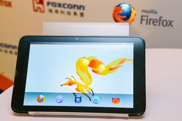 Mozilla/Foxconn sortie d'une tablette sous Firefox OS