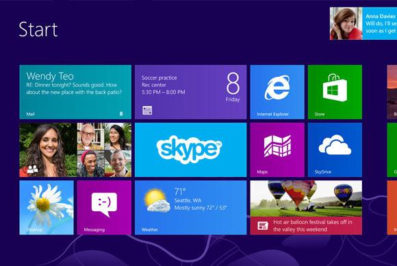 Pas de migration massive des entreprises vers Windows 8