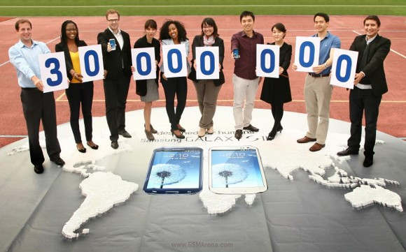 Plus de 30 millions de Galaxy S3 vendus