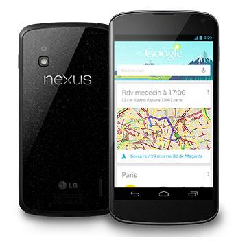 Sortie officielle du nouveau smartphone de Google le Nexus 4