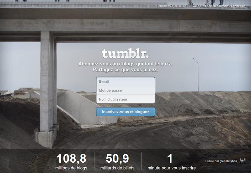 Tumblr racheté par Yahoo!