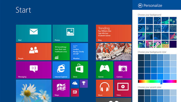 Windows 8.1 version finale pour mi-octobre !