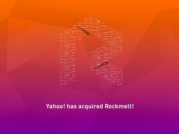Yahoo rachète le navigateur social Rockmelt