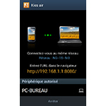 Android 4.0.4 : Samsung Kies Air gérer votre mobile à partir d'un navigateur web