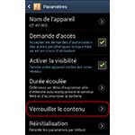 Android 4.0.4 : Samsung Kies Air verrouiller les contenus