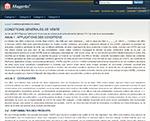 Magento 1.7.0 : Afficher les conditions générales de vente dans une page statique