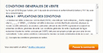 Magento 1.7.0 : Gestion des conditions générales de vente