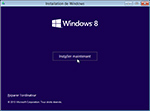 Microsoft Windows 8.1 installation de la version Preview