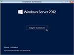 Microsoft Windows Server 2012 : Installation minimale (core) de l'édition Standard